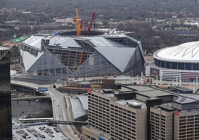 Atlanta's Georgia Dome imploded
