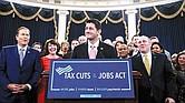 EXECTATIVA. Aunque la Cámara de Representantes ya aprobó el plan de reforma fiscal de Donald Trump, lo difícil será que el Senado lo deje intacto.