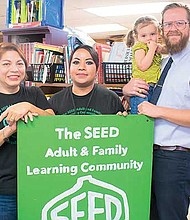 La organización SEED Adult and Family Learning Community