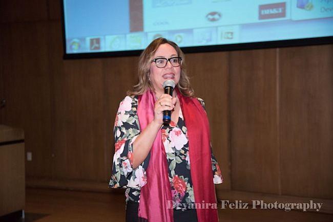 La concejal venezolana de Montgomery, estuvo presente como ponente en la Segunda Gala de la ONG