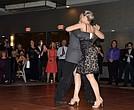 Geoffré Dominessy y Svetlana Filippova hicieron parar a los asistentes quienes por momentos fueron hipnotizados por sus impecables movimientos de tango.