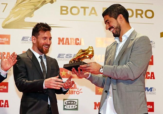 Lionel Messi obtuvo su cuarta Bota de Oro y empata a Cristiano Ronaldo