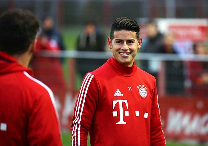 James Rodríguez estará fuera de acción por varios días tras una leve lesión cerebral