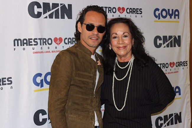 Marc Anthony y salvadoreños se unen por una causa