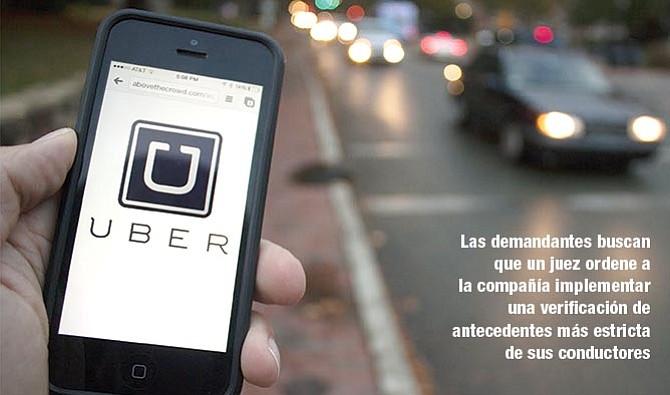 SUCEDE EN TODO EL PAIS Uber afronta demanda colectiva