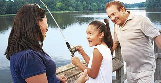¡A pescar en Georgetown!