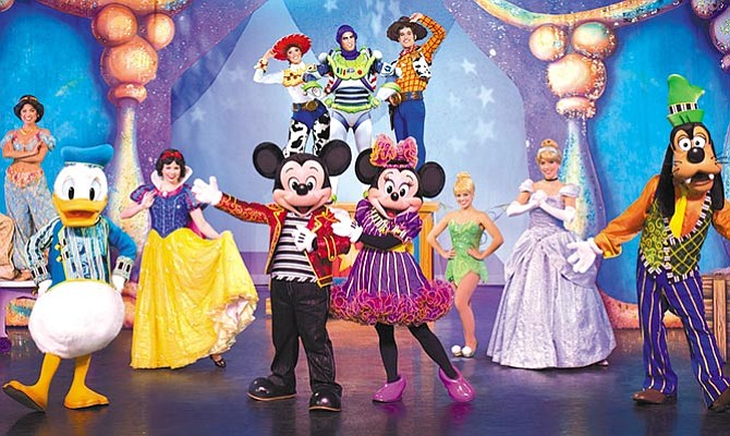 Disney Live! Llega al  Frank Erwin Center