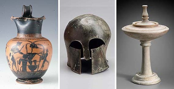 Nueva galería en el MFA: La vida cotidiana en la antigua Grecia
