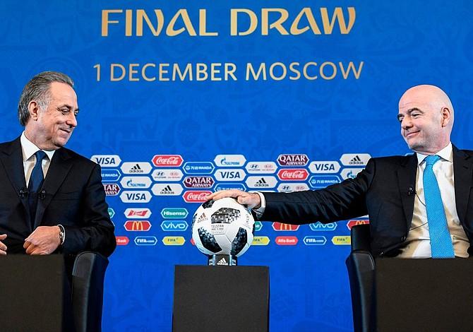 Sorteo del mundial Rusia 2018 definirá los grupos y enfrentamientos del evento