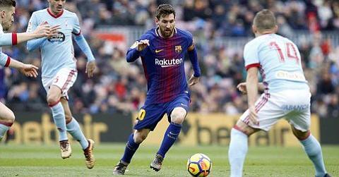 Barcelona empata a 2 con el Celta y pierde por dos meses al defensor Umtiti
