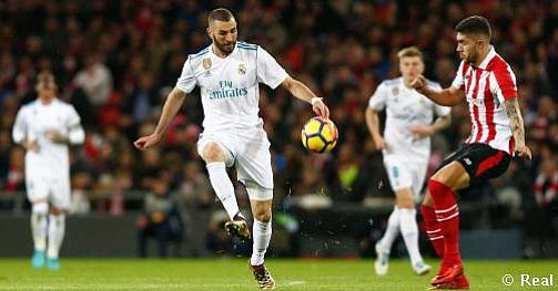 Real Madrid empata con el Athletic y pierde la oportunidad de acercarse al Barcelona