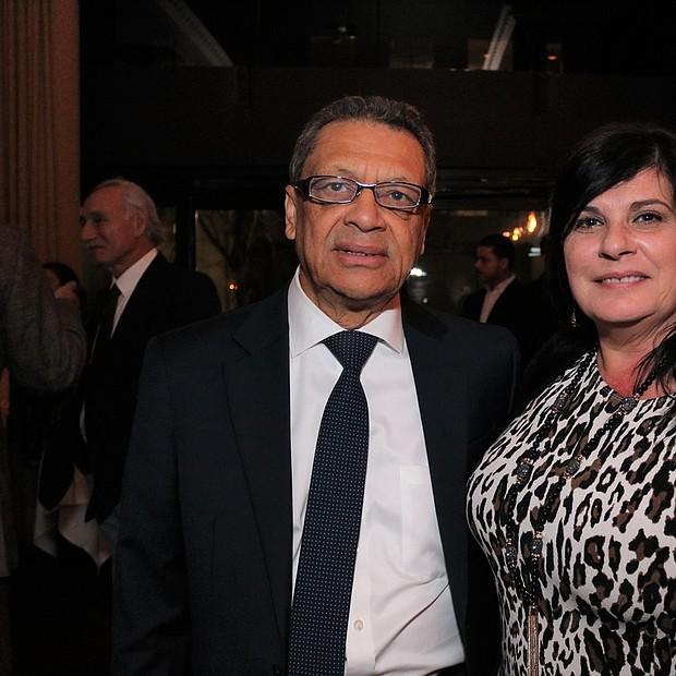 Nader Acevedo y Michelle DeFronzo