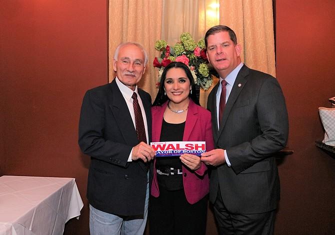 Celebraron recepción en homenaje al Alcalde de Boston