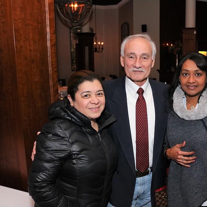 Claudia Sierra, Willy López, Nayibis Gomez y Marcela Pelaez
