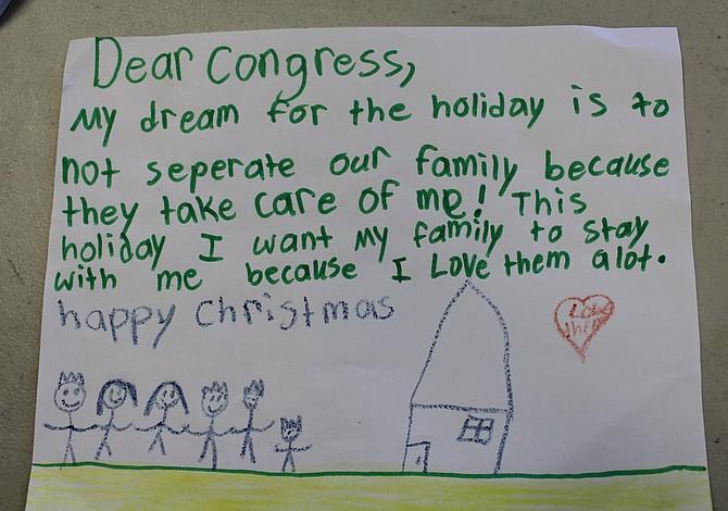 Niños viajan a DC con un mensaje de navidad para el Congreso