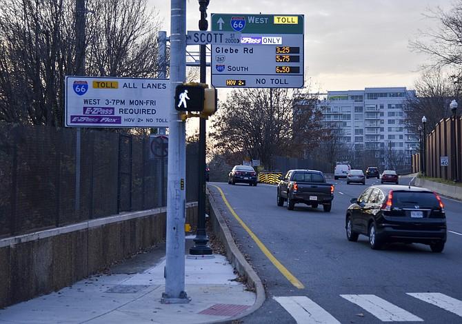 Abren vías rápidas de la I-66 con peaje de $34.50, entre los más caros de EE.UU.