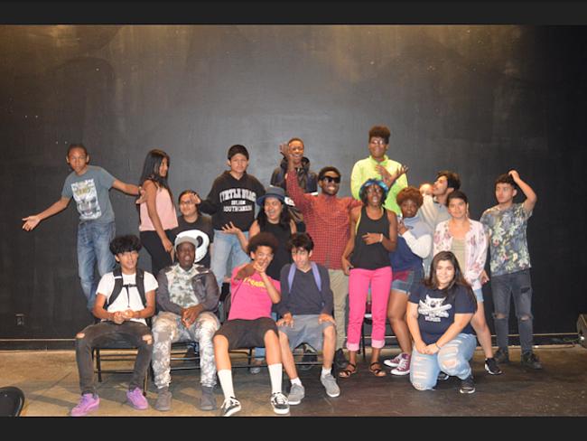 PROGRAMA. Jóvenes que participaron en el programa de verano de Paso Nuevo.
