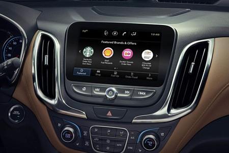 App de GM para comprar café y comida desde el auto