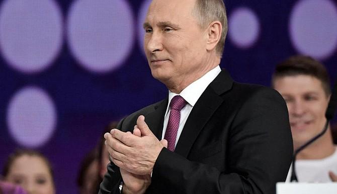 Vladimir Putin a la reelección