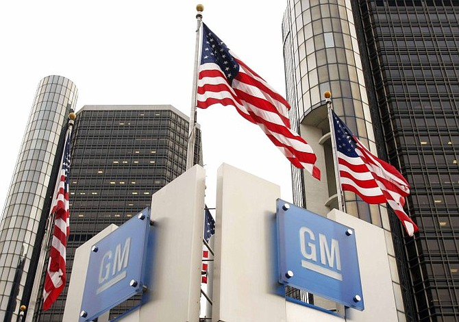 Ventas de General Motors cayeron 2,9%