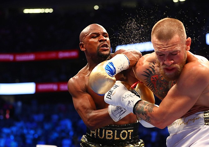 Mayweather admitió que su pelea con McGregor fue una farsa