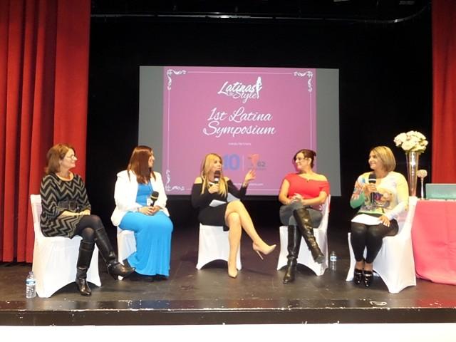 El simposio fue organizado por Latinas Life Style, una filial de Hispanic Media
