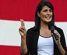 Nikki Haley habló en nombre de Estados Unidos ante la ONU