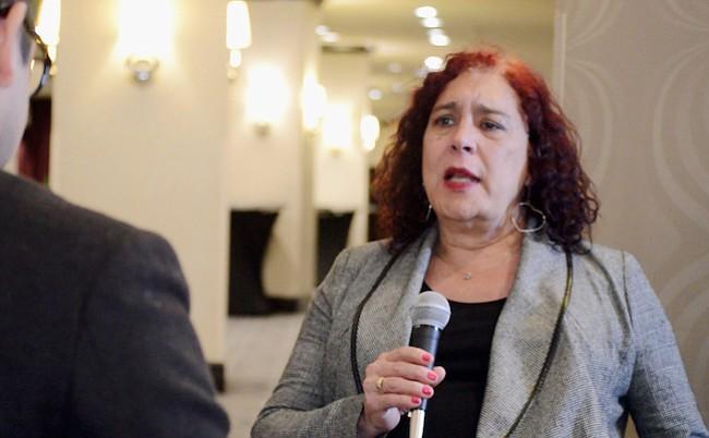"""Tamara Adrián denuncia que iglesias evangélica y católica arman cruzada contra la """"perversa ideología de género"""""""