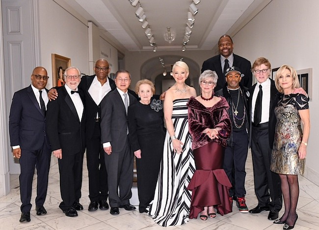 """La Galería Nacional de Retratos Smithsonian celebró gala """"Retrato Americano"""""""