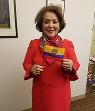 Beatriz Stein, Cónsul Voluntaria de Ecuador en Nueva Inglaterra