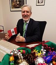 Manuel Suárez, Cónsul General de Perú en Nueva Inglaterra