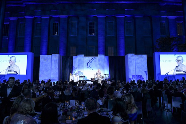 NOCHE DE GALA. La gala contó con 400 asistentes y recaudó $1 millón para los programas del Museo.