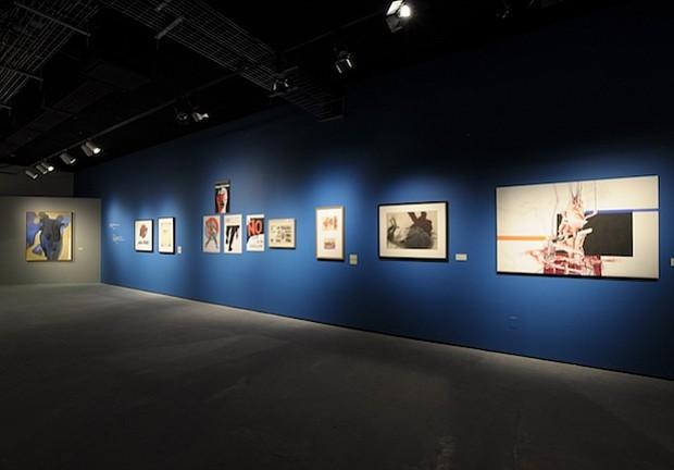 SHOW. Instalación de la exhibición en la UNAM, México en 2015.