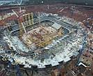 El estadio de Samara tiene un retraso de dos meses