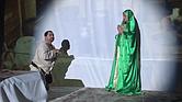 Representación teatral de las apariciones de la Virgen de Coromoto en la Parroquia Santísimo Redentor de East Boston