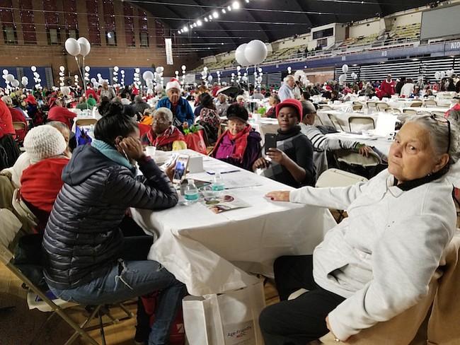 El evento contó con diversas actividades dirigidas a los homenajeados del día