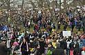 La marcha de las mujeres atrajo a más de 170 mil personas al Boston Common, y se convirtió en una de las principales noticias locales de 2017, a penas comenzando el año.