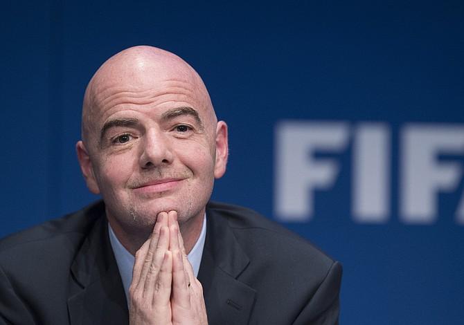 Infantino excluye que Italia sea repescada para el Mundial