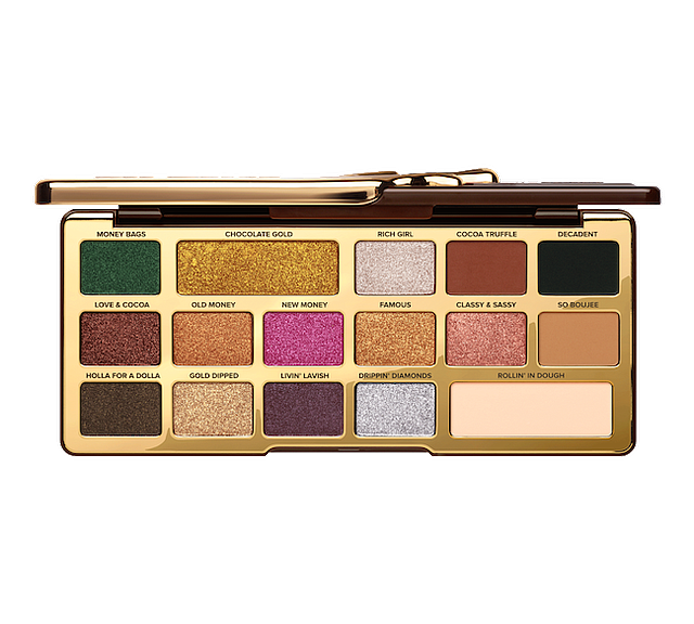 Too Faced Chocolate Gold Metallic/Matte Eyeshadow Palette