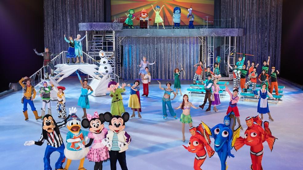 El show Dream Big de Disney on Ice estará en Boston hasta el 1 de enero