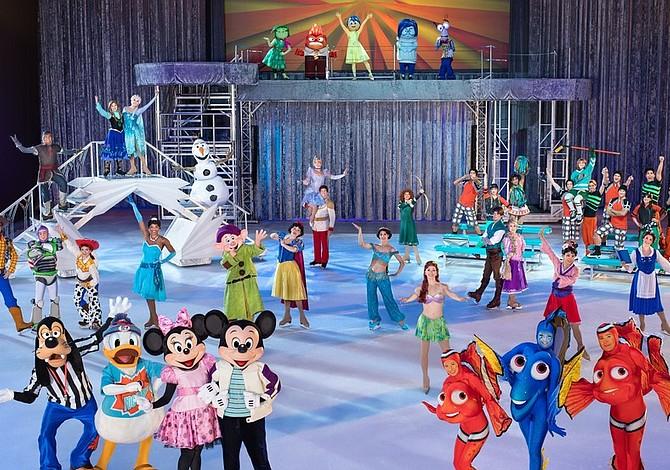 Patinadora latina sueña en grande con Disney on Ice en Boston