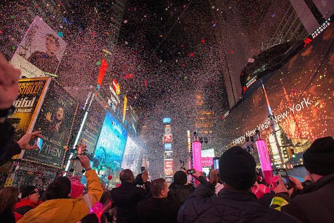 Cómo celebrar el año nuevo en los cinco condados de Nueva York