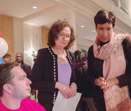 El saludable mensaje de la Alcaldesa Bowser para 2018