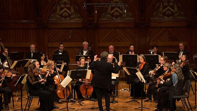 Concierto de año nuevo de Boston Baroque en el Sanders Theatre, 2016