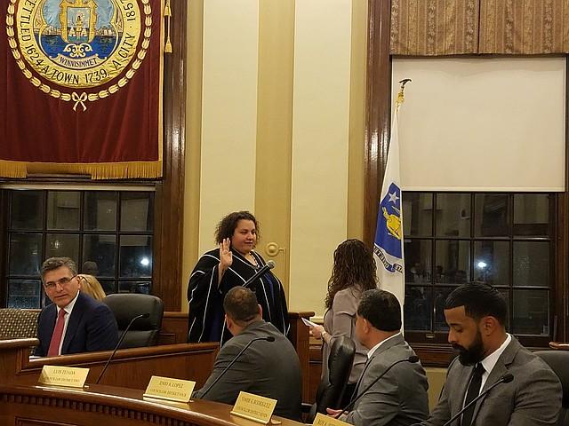 Damali Vidot fue juramentada como Presidenta del Concejo Municipal de Chelsea
