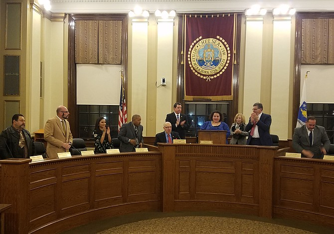 Nuevo Concejo Municipal se juramentó en Chelsea