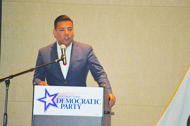 El Senador Ricardo Lara durante la Convención del Partido Demócrata en Escondido. Foto-Archivo: Horacio Rentería/El Latino.