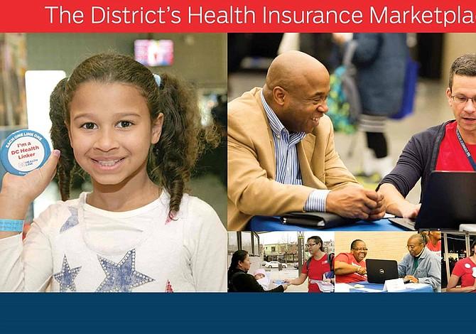 Actividades para inscribirse en seguro médico de DC Health Link