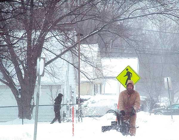 Frío polar golpea al país