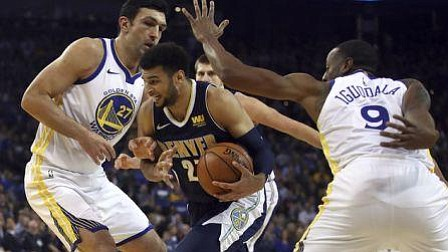 Warriors marchan imparables; Timberwolves humillan a Cavaliers
